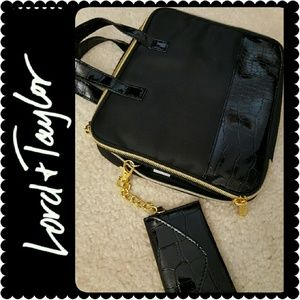 Lord & Taylor Handbags - Lord & Taylor Gadget or Cosmetic Case