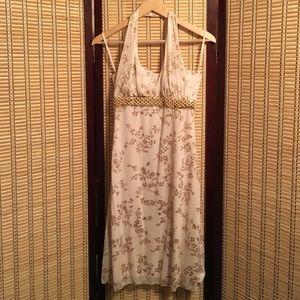 Taboo Dresses & Skirts - Gold and cream dress size medium NWT