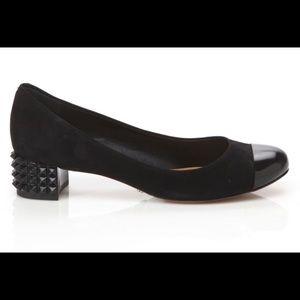 SCHUTZ Shoes - Schutz black Irvette spiked heel detail - SZ 8 NWT