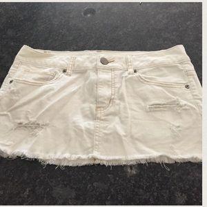 white american eagle outfitters denim skirt on Poshmark