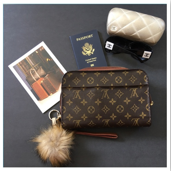 4ecec4722f29 Louis Vuitton Handbags -  1200 LOUIS VUITTON ORSAY CLUTCH ‼️FREE‼️charm 😉