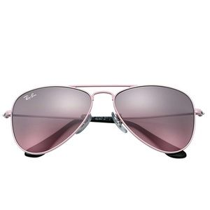NEW Ray-Ban Kids Aviators (Pink/Pink Gradient)