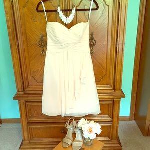 David's Bridal Dresses & Skirts - Blush David's Bridal Bridesmaids Dress