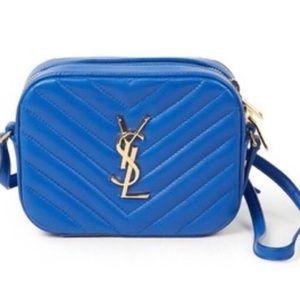Saint Laurent Handbags - Saint Laurent Small Matelasse Leather Camera Bag