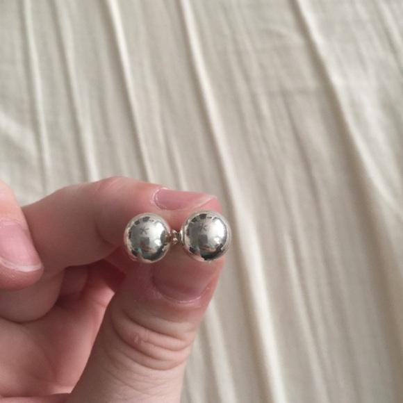 a27b17794 Tiffany & Co. Jewelry | Tiffany Bead Earrings | Poshmark