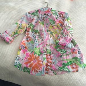 Lilly Pulitzer for Target Tops - Lilly for target button down blouse
