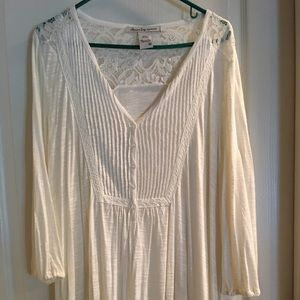 American Rag Lace Insert Top