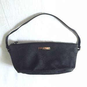 Vintage Gucci Original GG Monogram Baguette Bag