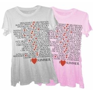 Wildfox Couture I ❤️ Summer Tee