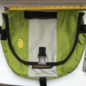 Timbuk2 Handbags - Timbuktu small messenger. Green/grey