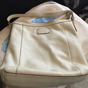 Kate spade cream boho bag