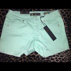 Kardashian Kollection Pants - Kardashian Premium Denim Kourtney Shorts
