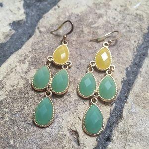Jewelry - Garden waterfall earrings