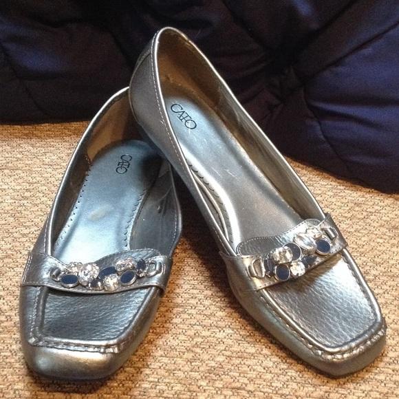 Brand Blue Suede Shoes Sandles