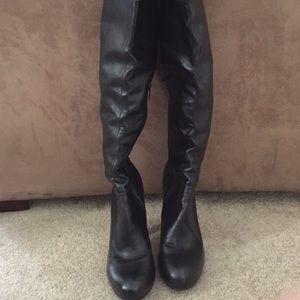 colin stuart thigh high boots on poshmark