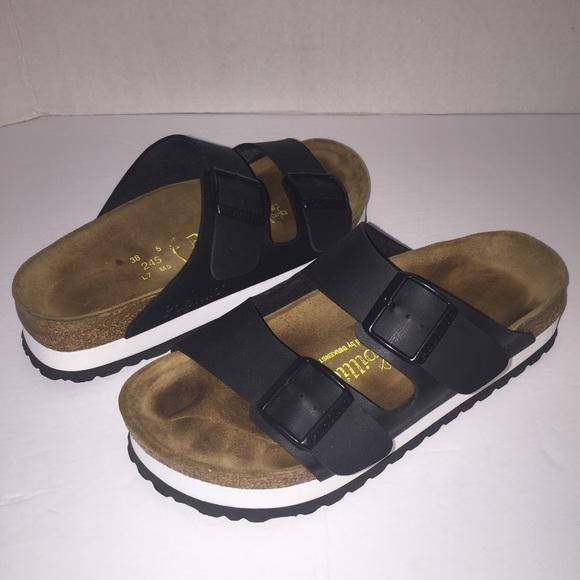b09ca0e08e5c Birkenstock Shoes - Papillio Birkenstock Platform Arizona Sandals 7 38