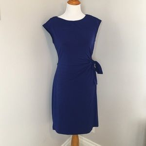 Dresses & Skirts - Gilt brand royal blue side tie dress