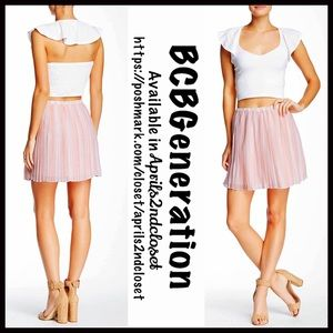 BCBGeneration Dresses & Skirts - ❗️1-HOUR SALE❗️BCBGeneration Mini Skirt Pleated