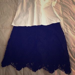 Dresses & Skirts - Lace skirt