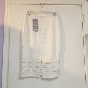 Skirts - White midi skirt