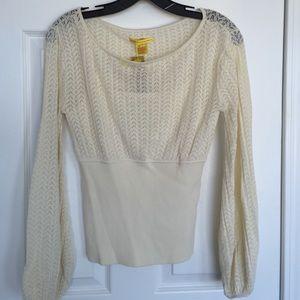 Catherine Malandrino Sweaters - NEW Catherine Maladrino cream sweater