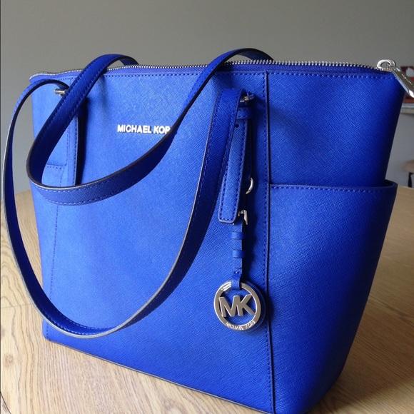 0c4b8b3aa507 royal blue mk purse Sale