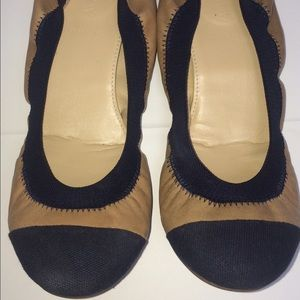 J. Crew Shoes - J.Crew Mila leather Ballet Flats 7 Cece Cap Toe