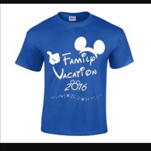 56c5c4ba Tops | Disney World Family Vacation Matching T Shirts | Poshmark