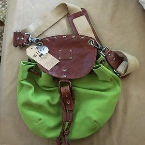 Will Leather Goods Handbags - Will green handbag