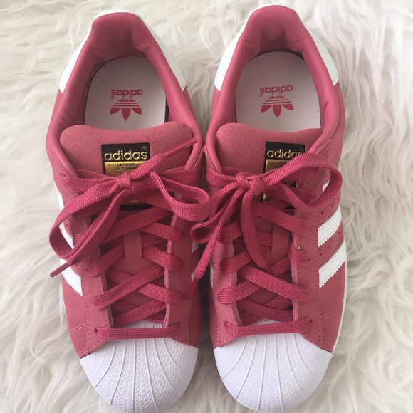 fbab0c089ac3 ... where can i buy adidas superstar. pink and white suede. 6294f bfe39