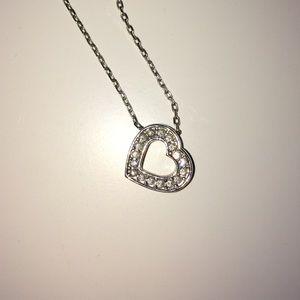 Swarovski Jewelry - Swarovski open heart necklace