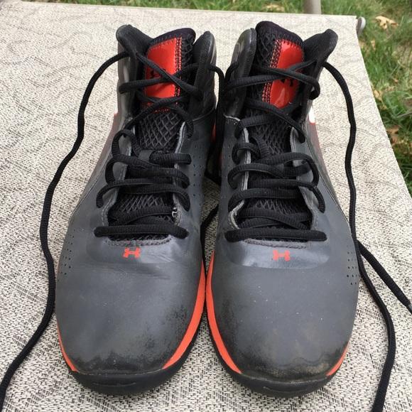 superior quality f1fa1 395c7 Grey   Orange Under Armour Micro G Torch 3 shoes. M 577ae65f41b4e056ae00edea