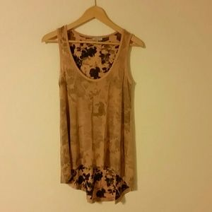 """Miss Sixty Tops - """"FINAL PRICE"""" Flowery tank top"""