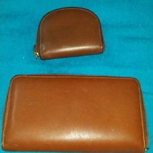 Longaberger wallet & coin purse