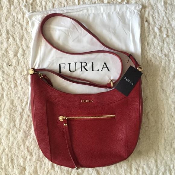 75d570f2b208 Furla Ginevra crossbody leather bag