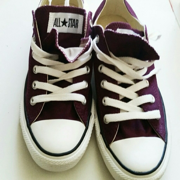 c90c04b4d4157c Plum purple Converse Womens size 8  men size 6