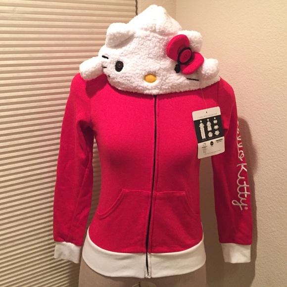 0cc349adf Sanrio Jackets & Coats | Hello Kitty Jacket | Poshmark