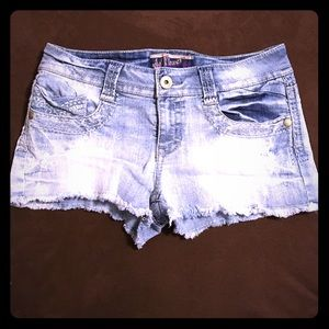 Wallflower Pants - Wallflower® Light Denim Shorts