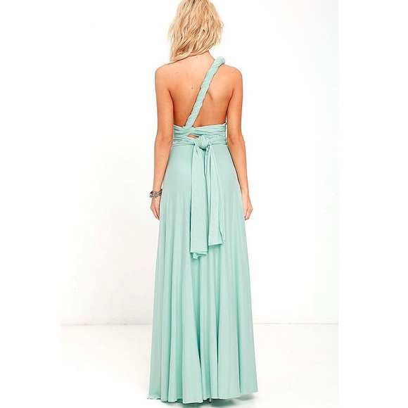 Dresses & Skirts - Aquamarine Convertible Multiway Maxi Dress, S