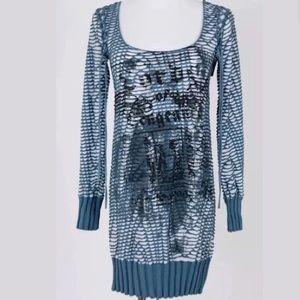 Salvage Dresses & Skirts - NWOT SALVAGE BABY BLUE MINI DRESS