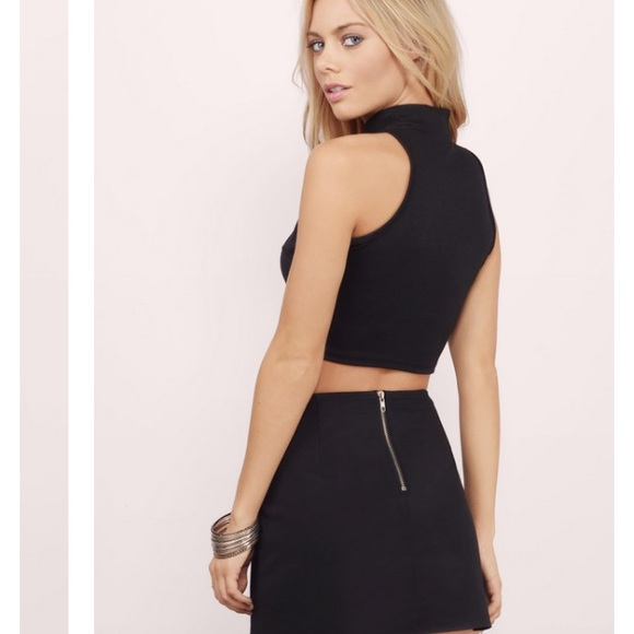 20% off Tobi Dresses & Skirts - Mini Tobi leather zip up skirt in ...