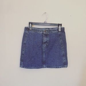 vintage D&G denim mini skirt