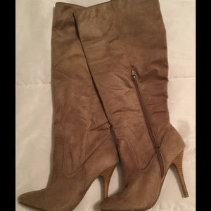 Shoes - Still available Soft suede boots/never worn/NWOT