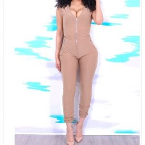 Pants - New nude colored jumpsuit