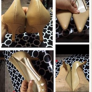 Banana republic cream shoes