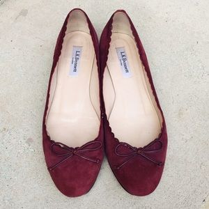 LK Bennett Shoes - L.K. BENNETT Scalloped Ballerina Flats