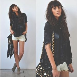 LAST ONE! Free People vintage denim cut offs