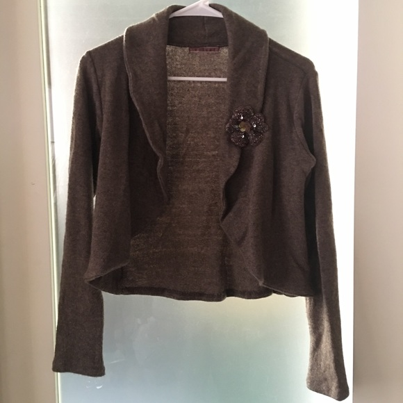 matches. ($ - $) Find great deals on the latest styles of Chocolate brown shrug. Compare prices & save money on Women's Sweaters / Vests.