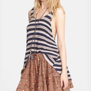 Free People Tops - Free People sailor oversize stripe tank