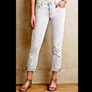 """Anthropologie bleached out & destroyed Jeans"""" 29"""